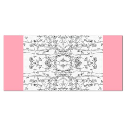 Pink Branch Pint table cloth Tablecloth