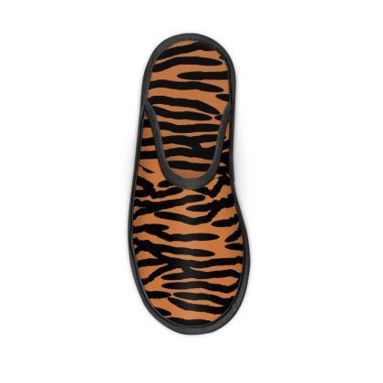 Slippers Tiger Skin Pattern