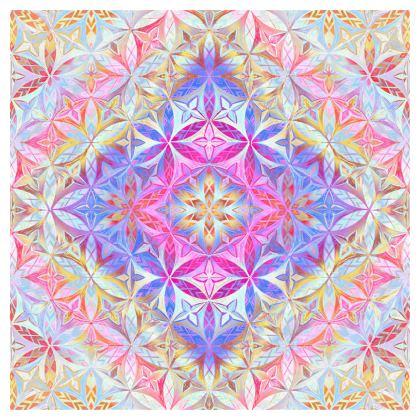 Quilts Kaleidoscope Flower Of Life 2