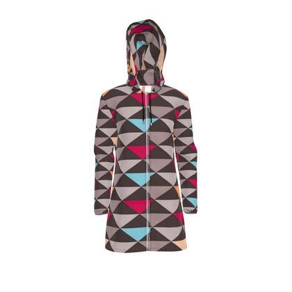 Womens Hooded Rain Mac