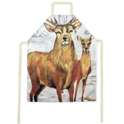 Stag and Doe Apron