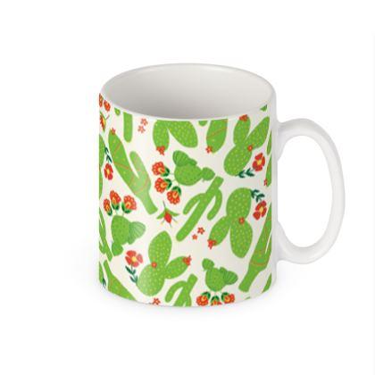 Bright Cactus Builders Mug