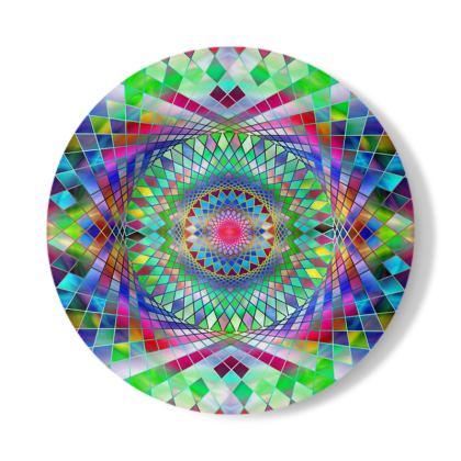 Decorative Plate Mandala