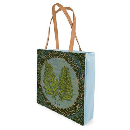 Celtic Fern Shopper Bag