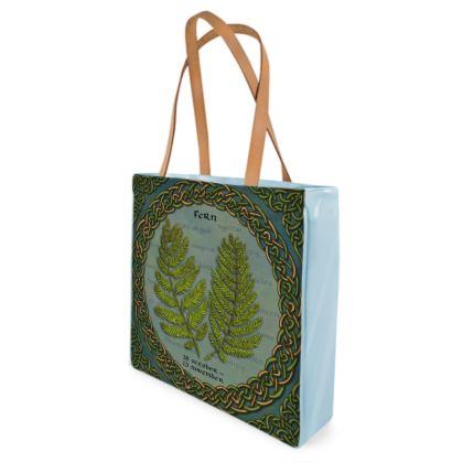 Tree Calendar Fern Shopper Bag
