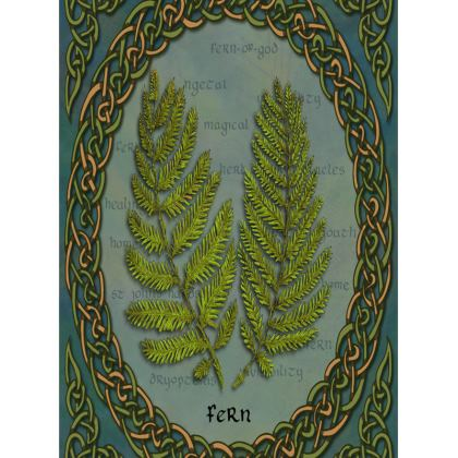 Celtic Fern Tray
