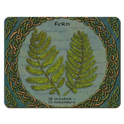Tree Calendar Fern Placemats