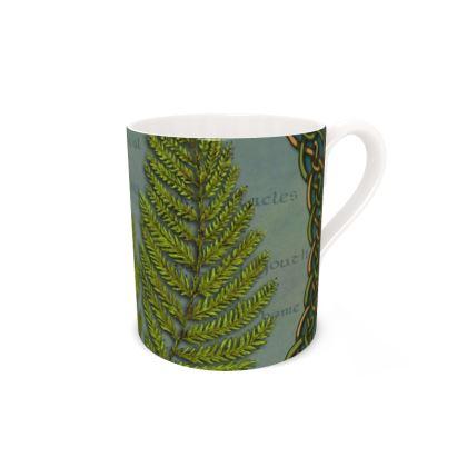 Celtic Fern Mug