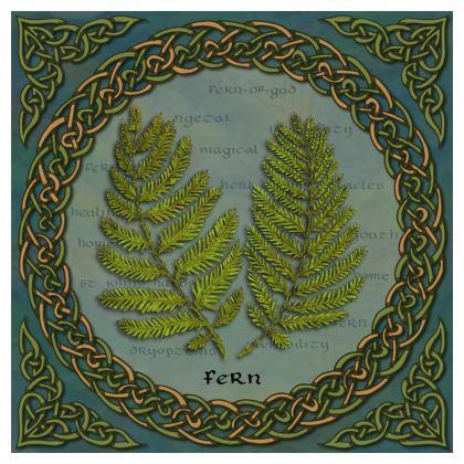 Celtic Fern Cushion