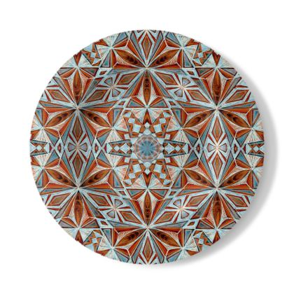 Decorative Plate Handdrawing