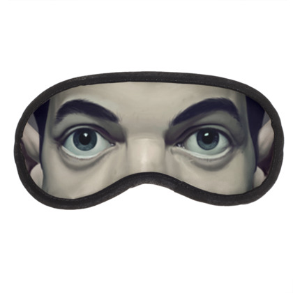 Rami Malek Celebrity Caricature Eye Mask
