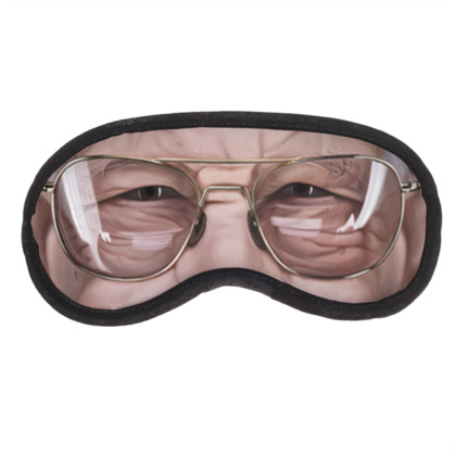 Stan Lee Celebrity Caricature Eye Mask