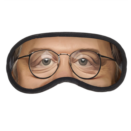 Guillermo Del Toro Celebrity Caricature Eye Mask