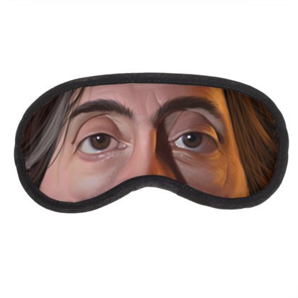 Tim Burton Celebrity Caricature Eye Mask