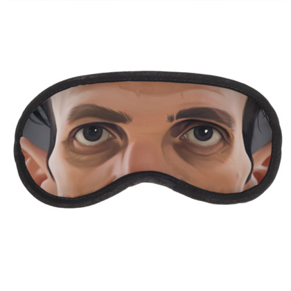 Casey Neistat Celebrity Caricature Eye Mask