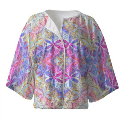 Kimono Jacket Kaleidoscope Flower Of Life 2