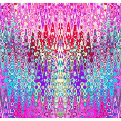 Kimono Jacket Pink Splashes