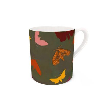 Butterflies & Moths China Mug