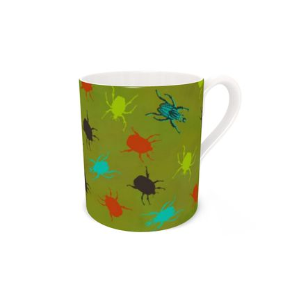 Bugs & Beetles China Mug