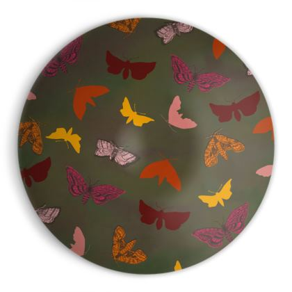 Butterflies & Moths Ornamental Bowl