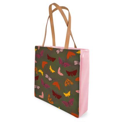 Butterflies & Moths Shopper Bag