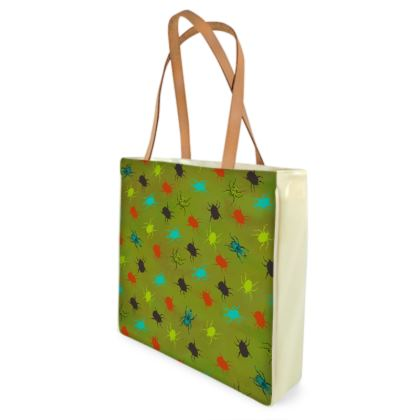 Bugs & Beetles Shopper Bag
