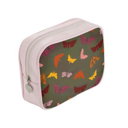 Butterflies & Moths Make Up Bag
