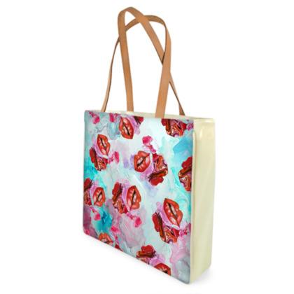 Soft Lips Shopper Bags