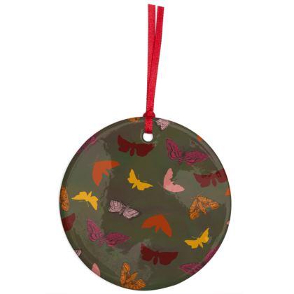 Butterflies & Moths Hanging Ornament