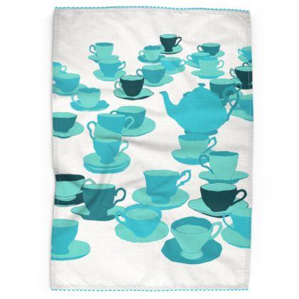 Tea Towels - Tea party