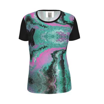 Ladies Cut and Sew T Shirt
