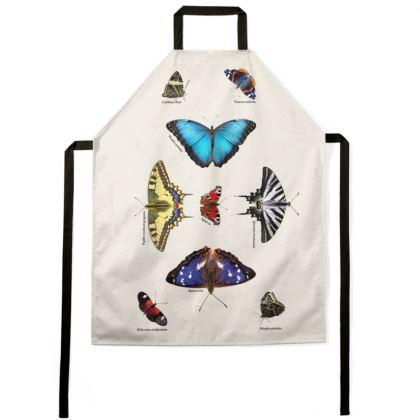 Apron - Mirrored Butterflies