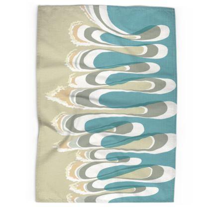 Tea Towel: Waves