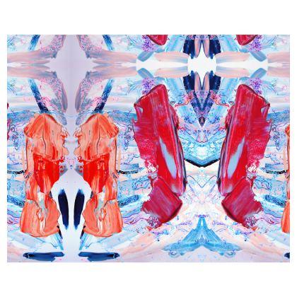 Abstraction Streak Kimono