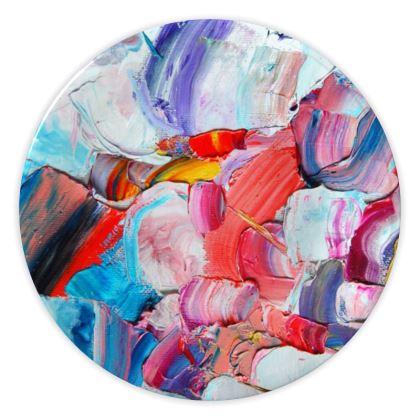 Abstraction China Plates