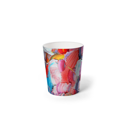 Abstraction Waste Paper Bin