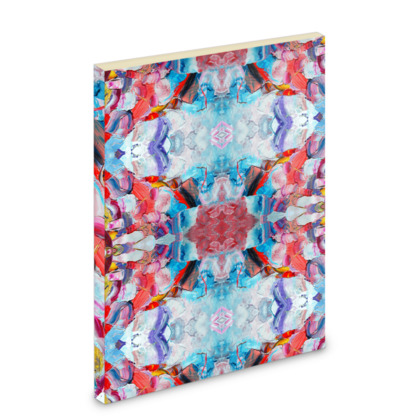 Mirror Abstraction Pocket Note Book