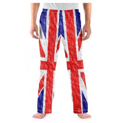 Men's Pyjama Bottoms Union Jack Flag