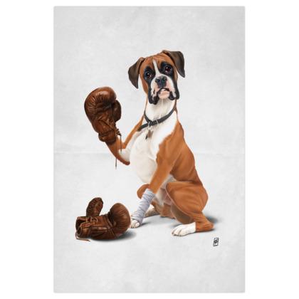 The Boxer ~ Wordless Animal Behaviour Art Print