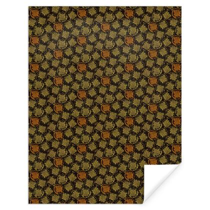 Gift Wrap: Big Dandelions