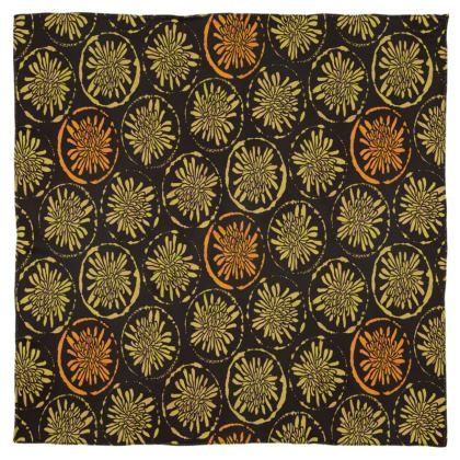 Chiffon Scarf: Big Dandelions