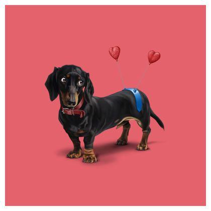 Butt ~ Colour Animal Behaviour Cushion