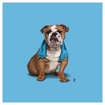 Bull ~ Colour Animal Behaviour Cushion