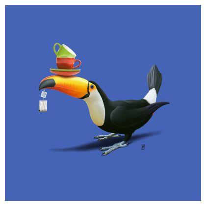 Tea for Tou ~ Colour Animal Behaviour Cushion