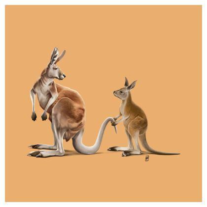 Being Tailed ~ Colour Animal Behaviour Cushion
