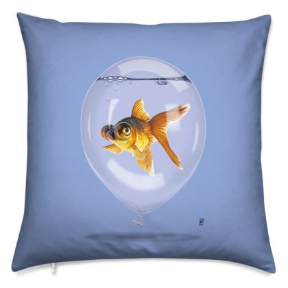 Inflated ~ Colour Animal Behaviour Cushion