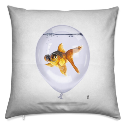 Inflated ~ Wordless Animal Behaviour Cushion