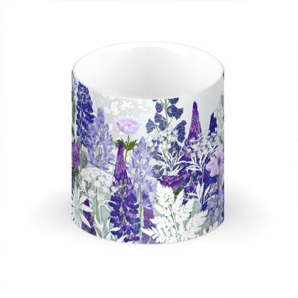 Daydream in Blue Large Bone China Mug
