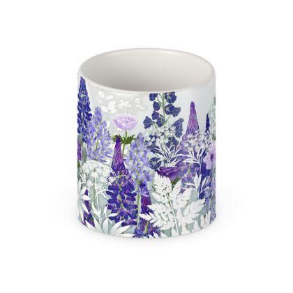 Daydream in Blue Ceramic Mug