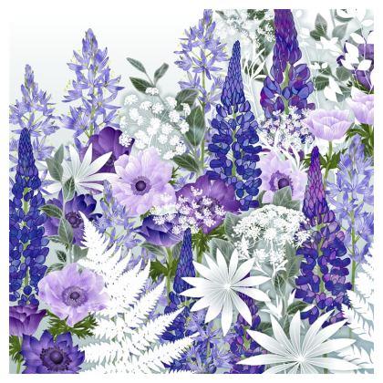 Daydream in Blue Luxury Cushion